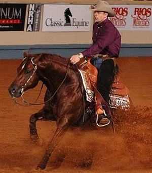 Kronsteiner e Dance Little Spook win the 2011 IRHA/NRHA Open Level 4 Futurity Championship